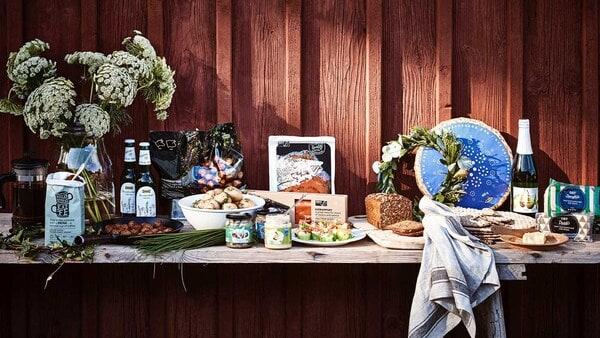 Epicerie suédoise et restauration