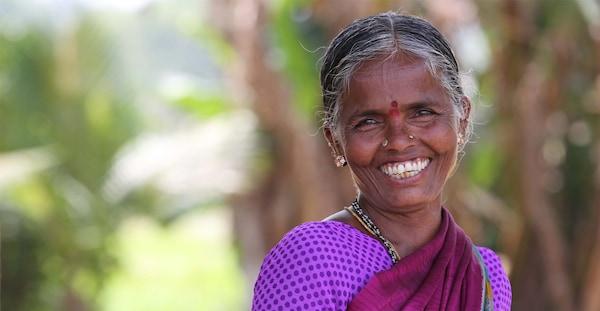 Dandu Bhulaxmi profitiert vom Disha-Projekt.