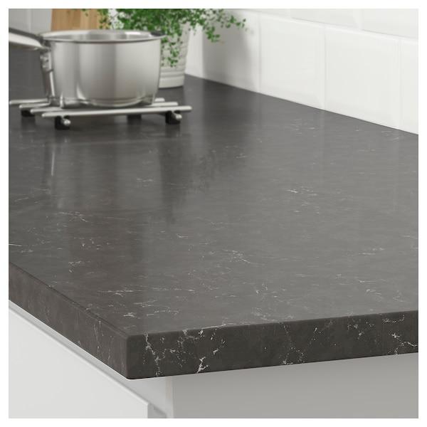 dark gray marble effect