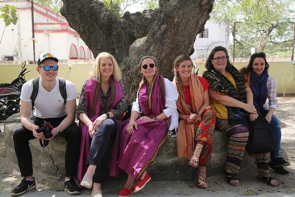 Das deutsche IWitness-Team in Indien.