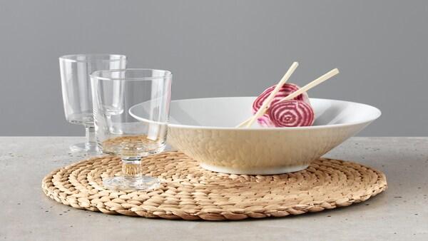 Das IKEA 365+ Geschirr.