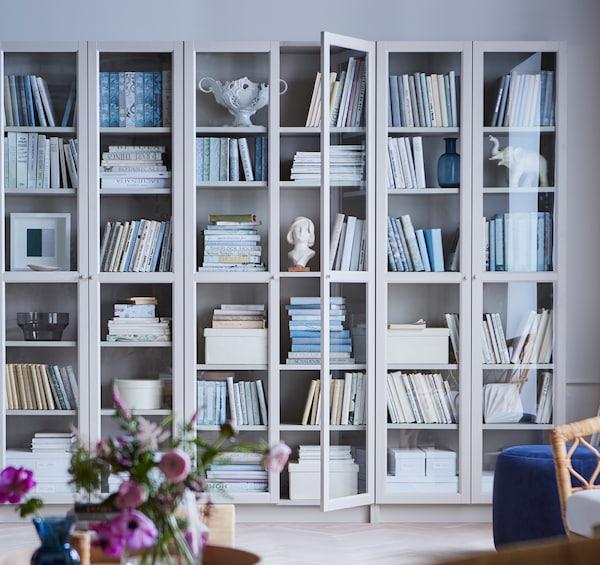 aufbewahrung f r b cher zeitschriften ikea. Black Bedroom Furniture Sets. Home Design Ideas