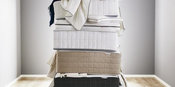 Das Material deiner Matratze - Federkern, Latex oder Schaum
