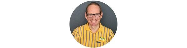 David Manser, Einrichtungshauschef IKEA Lyssach.