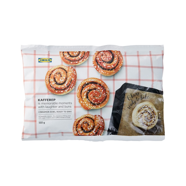 KANELBULLAR Ready-to-bake cinnamon buns, frozen