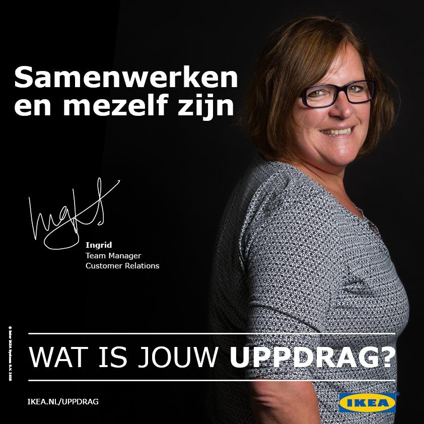 De UPPDRAG van Ingrid