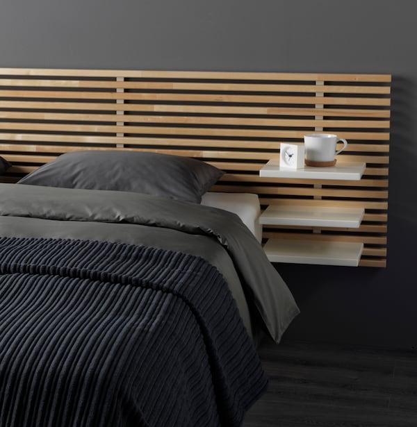 Decoración de dormitorios con cabeceros modernos y prácticos