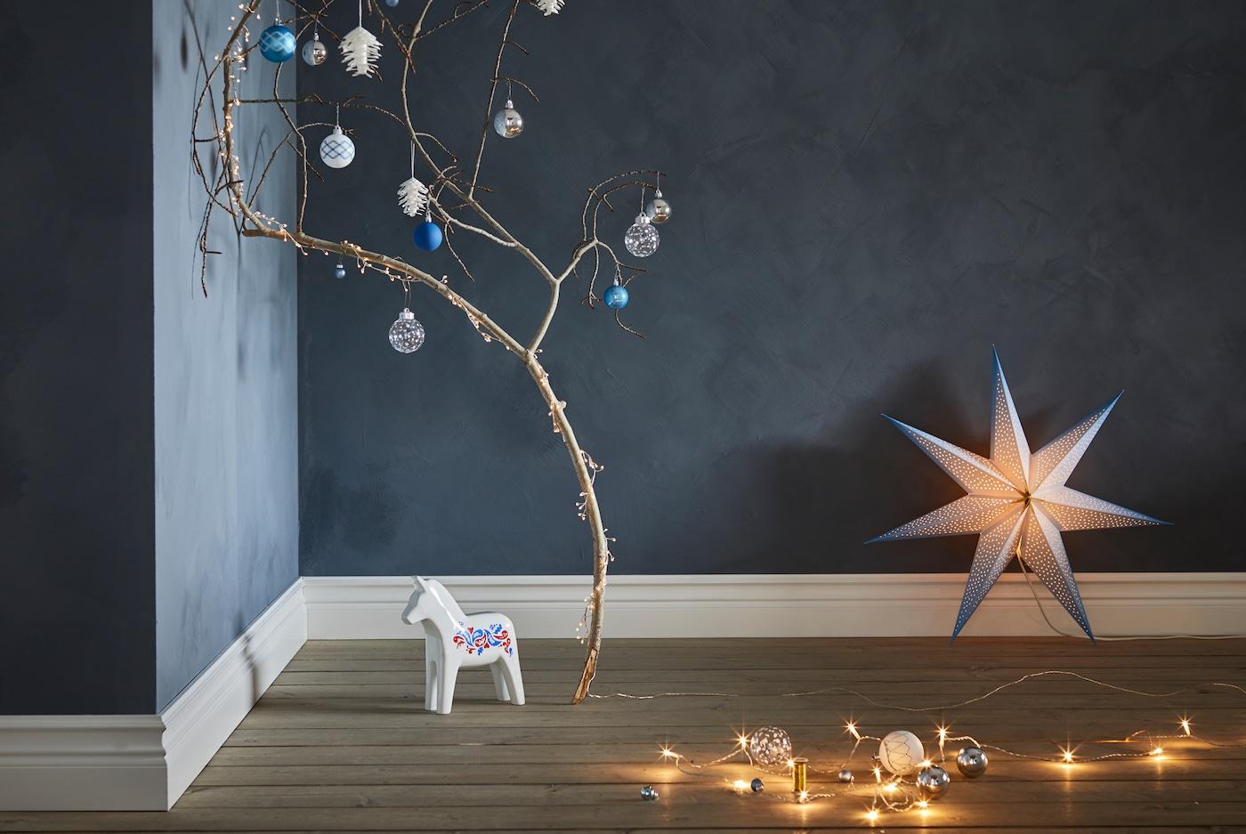 Juego De Mesa De Navidad Luces De Té Manteles Individuales Placa de Cargador Vajilla De Fiesta De Navidad