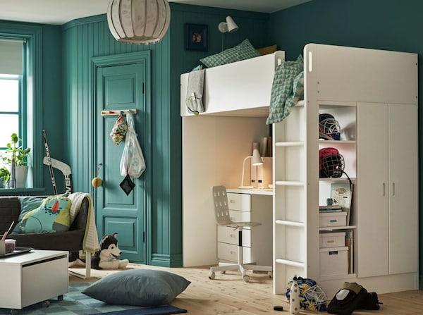 Decorar habitaciones infantiles donde poder estudiar