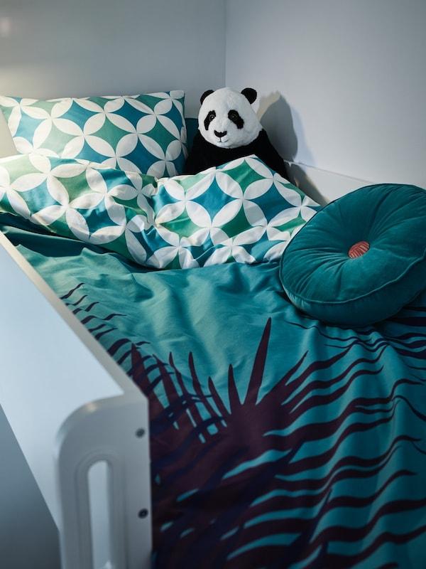 decorar un dormitorio indantil con la ropa de cama