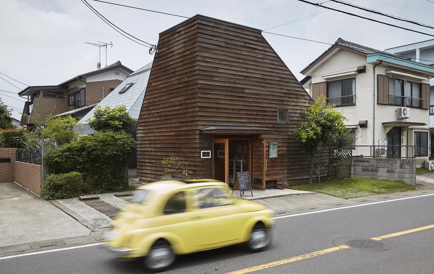 Découvrez une maison familiale inhabituelle au Japon