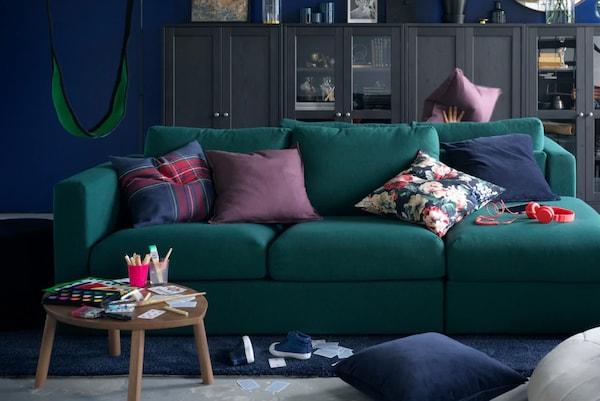 Deine Spielecke im Wohnzimmer: Inspiration für dein kinderfreundliches zu Hause