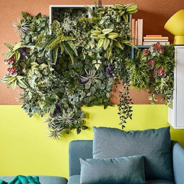 Deko aus Kunstpflanzen: Dekorieren mit künstlichen Pflanzen