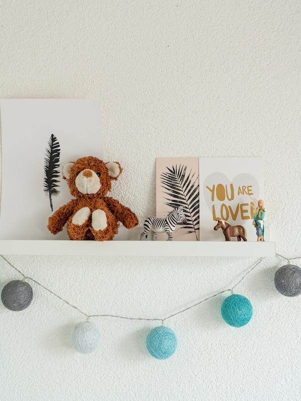 Dekorative IKEA Bilder sind in jedem Kinderzimmer ein schöner Hingucker.