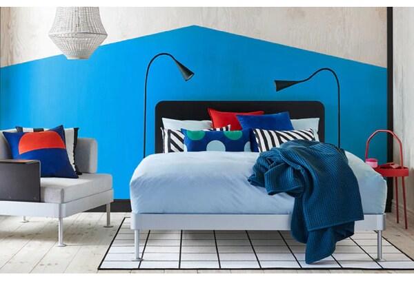DELAKTIG bed