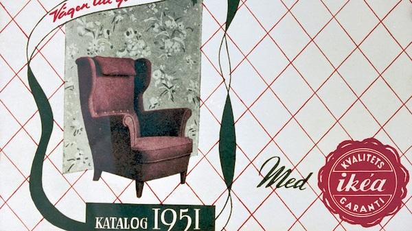 Den första IKEAkatalogen publicerades 1951.