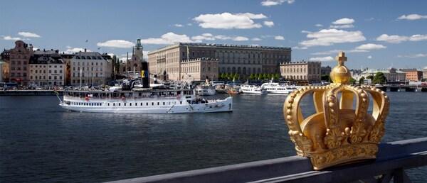 Der alte Königspalast wird noch heute für repräsentative und zeremonielle Zwecke genutzt.