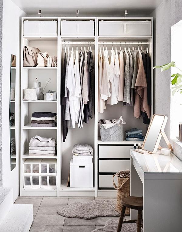 Der Luxus einer perfekt organisierten Garderobe - IKEA