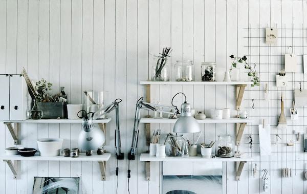 Des solutions de rangement simples pour la maison