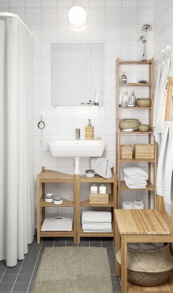Decoración de baños pequenos: todo o que debes saber - IKEA