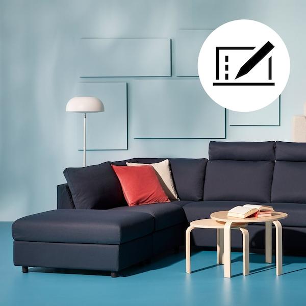 Design din sofa, som du kan lide den, med vores tegneprogram.