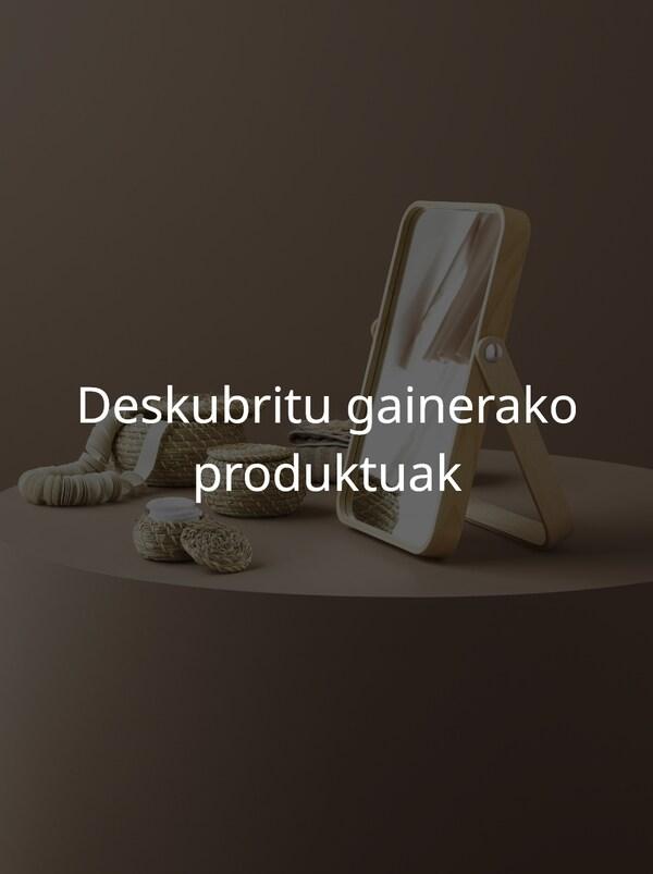 Deskubritu gainerako produktuak
