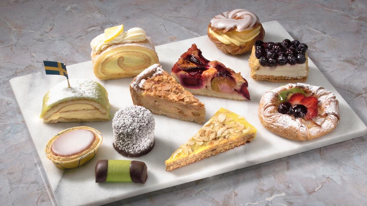 Desserts au restaurant IKEA
