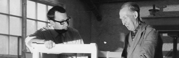 Die Prototypen-Werkstatt wurde bereits 1965 von Gillis Lundgren, dem ersten IKEA Designer überhaupt, gegründet.