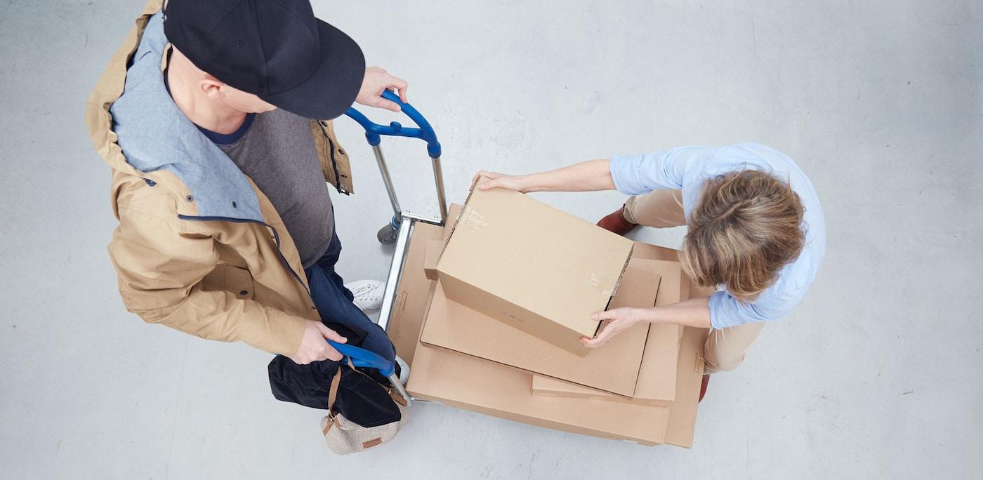 Die Verpackung ist für den Schutz der Produkte von entscheidender Bedeutung.