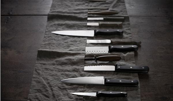 Die verschiedenen Messer-Arten