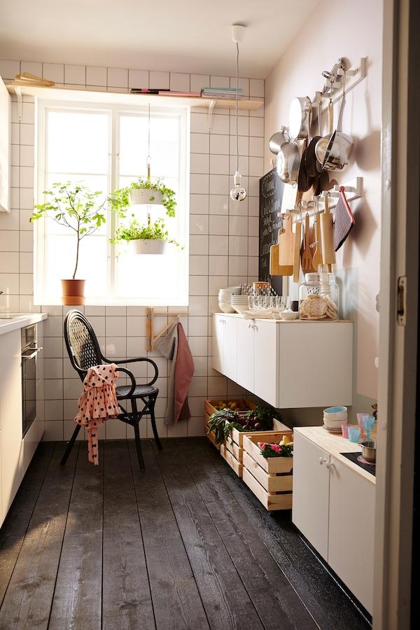 Überraschende Ideen für schmale Küchen - IKEA