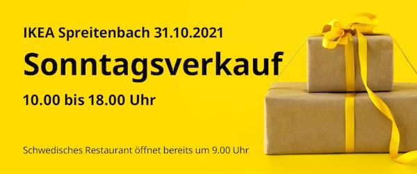 Diesen Sonntag 31.10.2021 in Spreitenbach