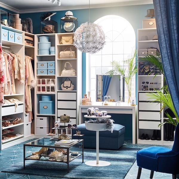 Begehbarer Kleiderschrank Von Kopf Bis Fuss Ikea