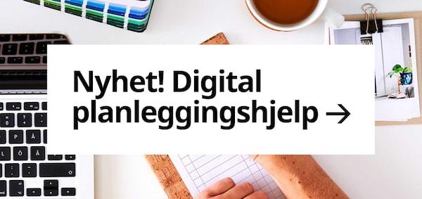 Digital planleggingshjelp.