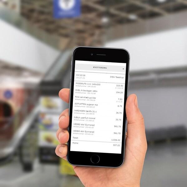 Digitale kvitteringer