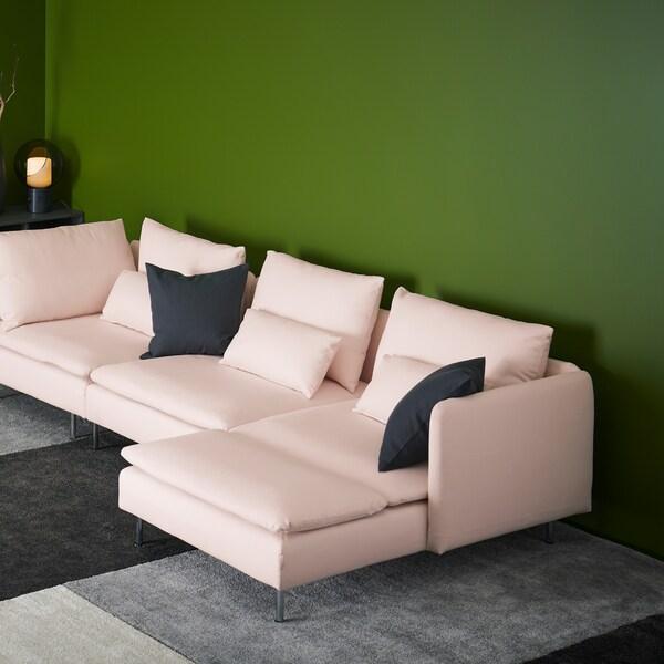 Diseña tu sofá SÖDERHAMN perfecto.