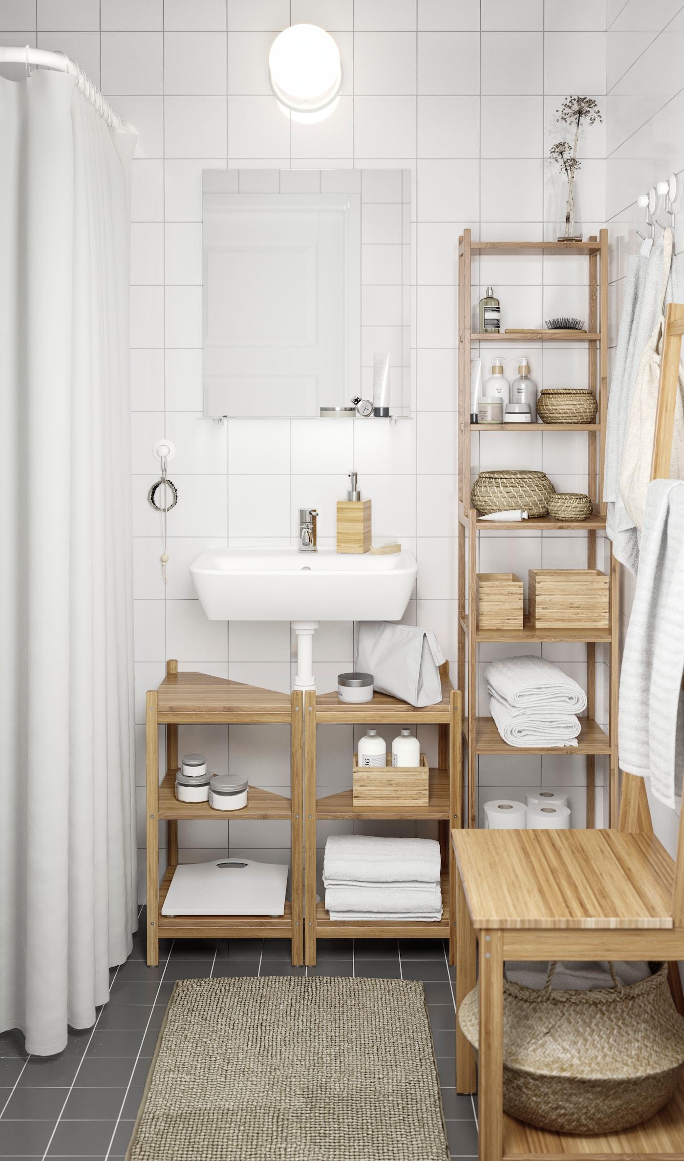 decoracion baños pequeños ikea