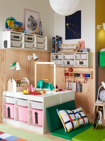 Дитячі меблі для зберігання