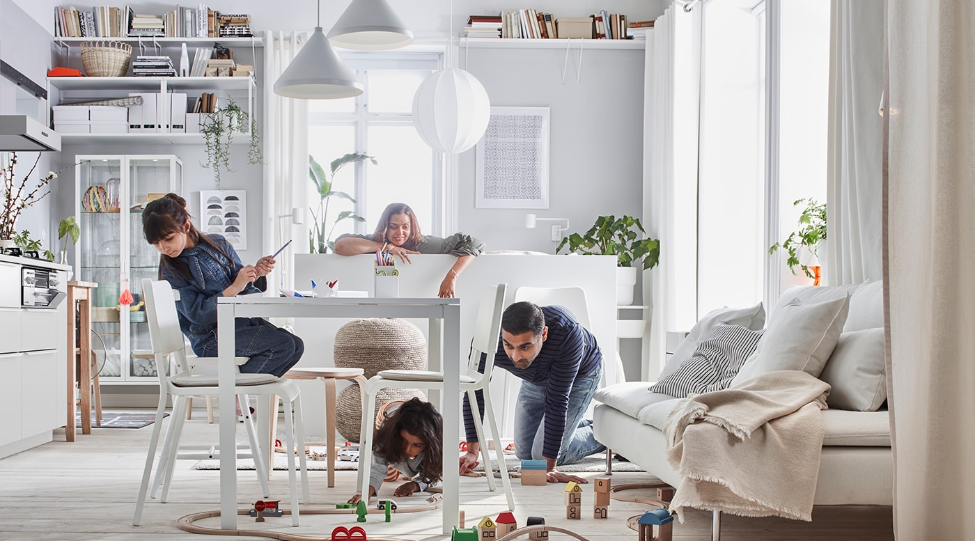 Dive into life at home, financial results and get to know who we are in IKEA Group Yearly Summary 2017.