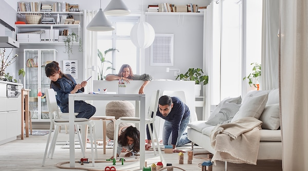 Dive into life at home, financial results and get to know who we are in IKEA Group Yearly Summary 2020.