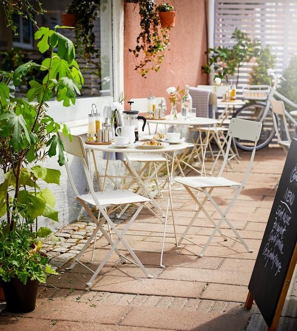 Дизайн уличного кафе