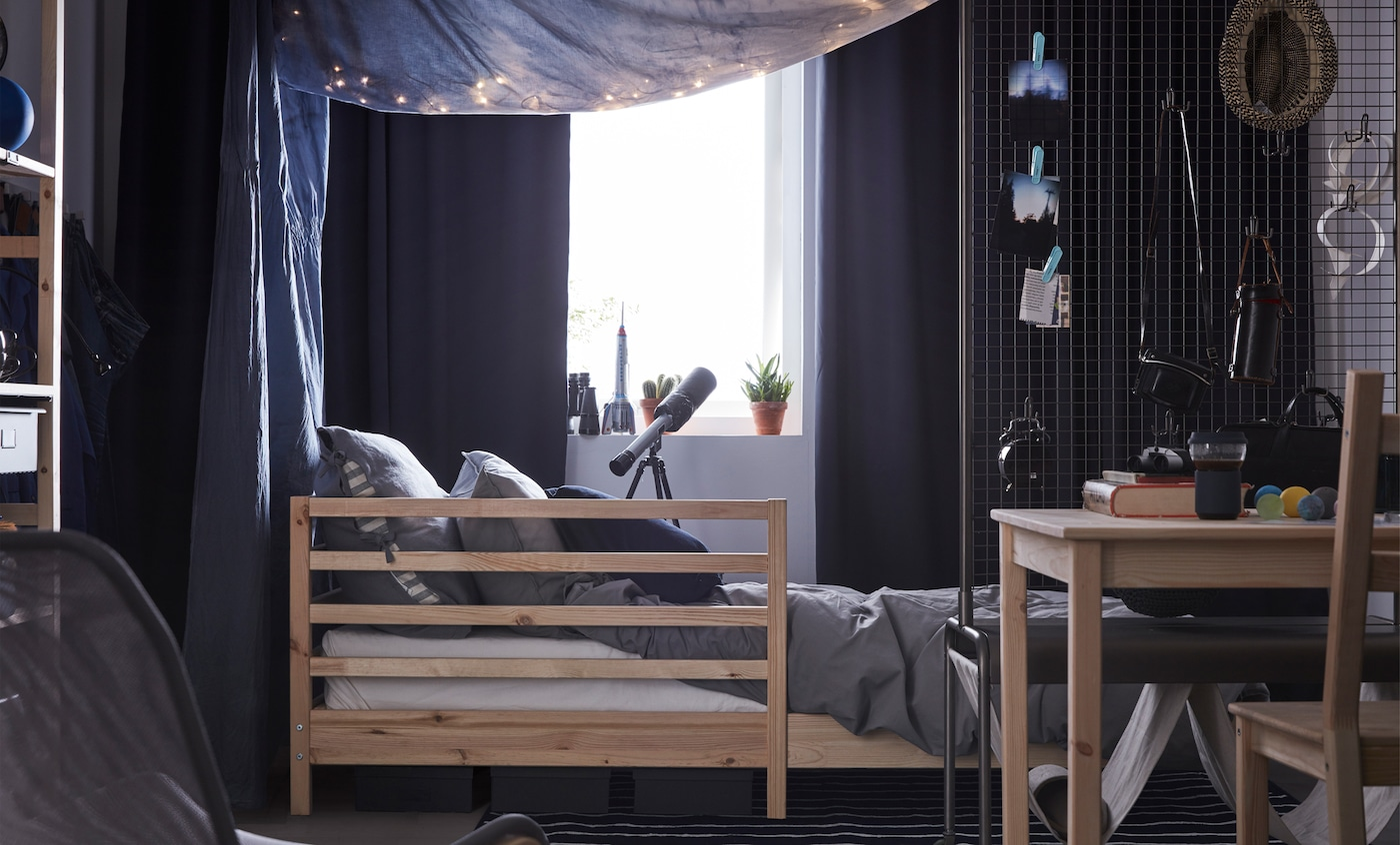 Dark And Cosy Dorm Room Ideas Ikea