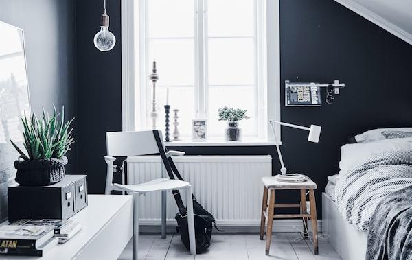 Ideas para diseñar un dormitorio juvenil práctico y moderno - IKEA®