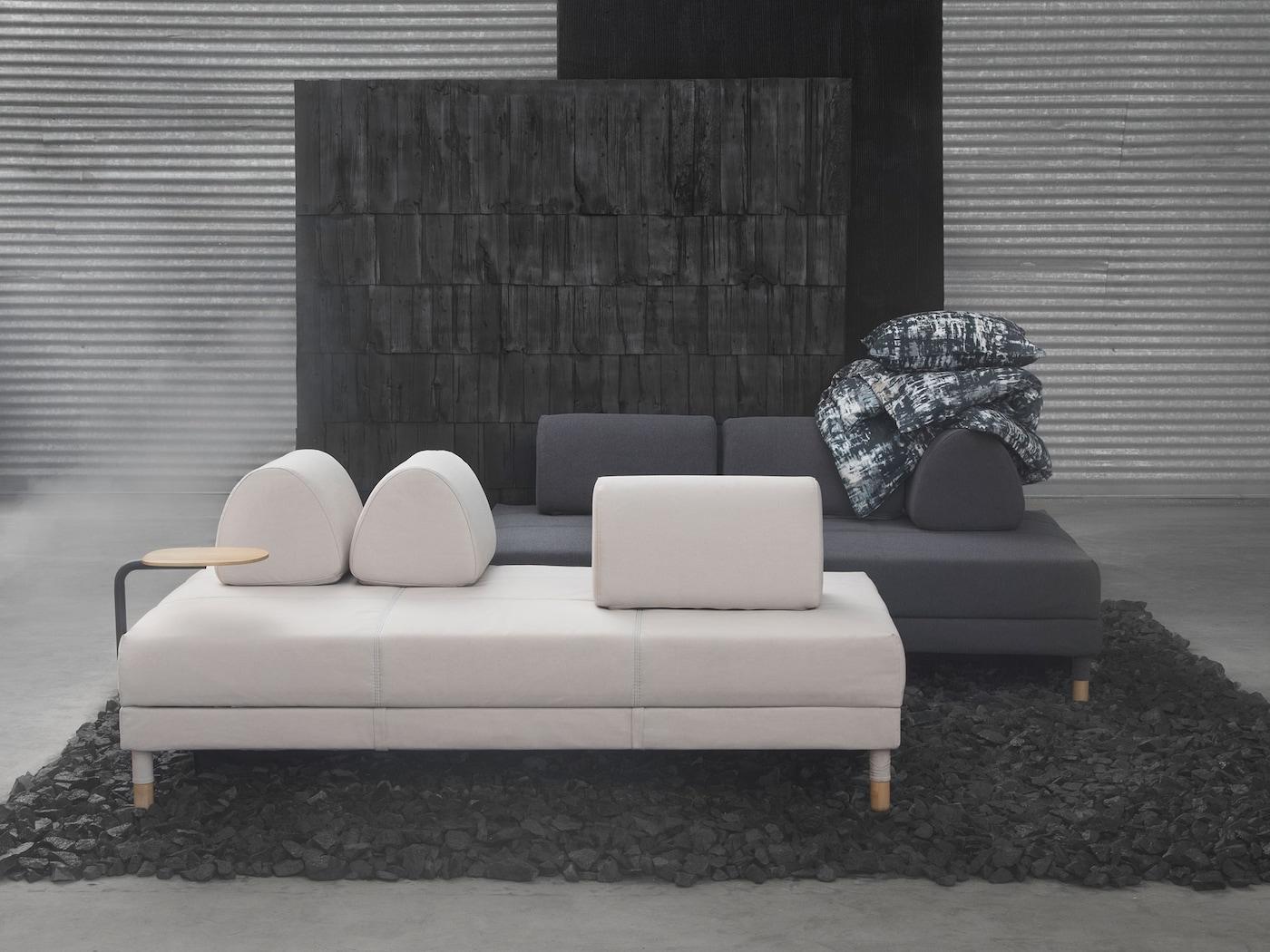 Sencillez con un sof cama ikea for Sofa cama con cajones ikea