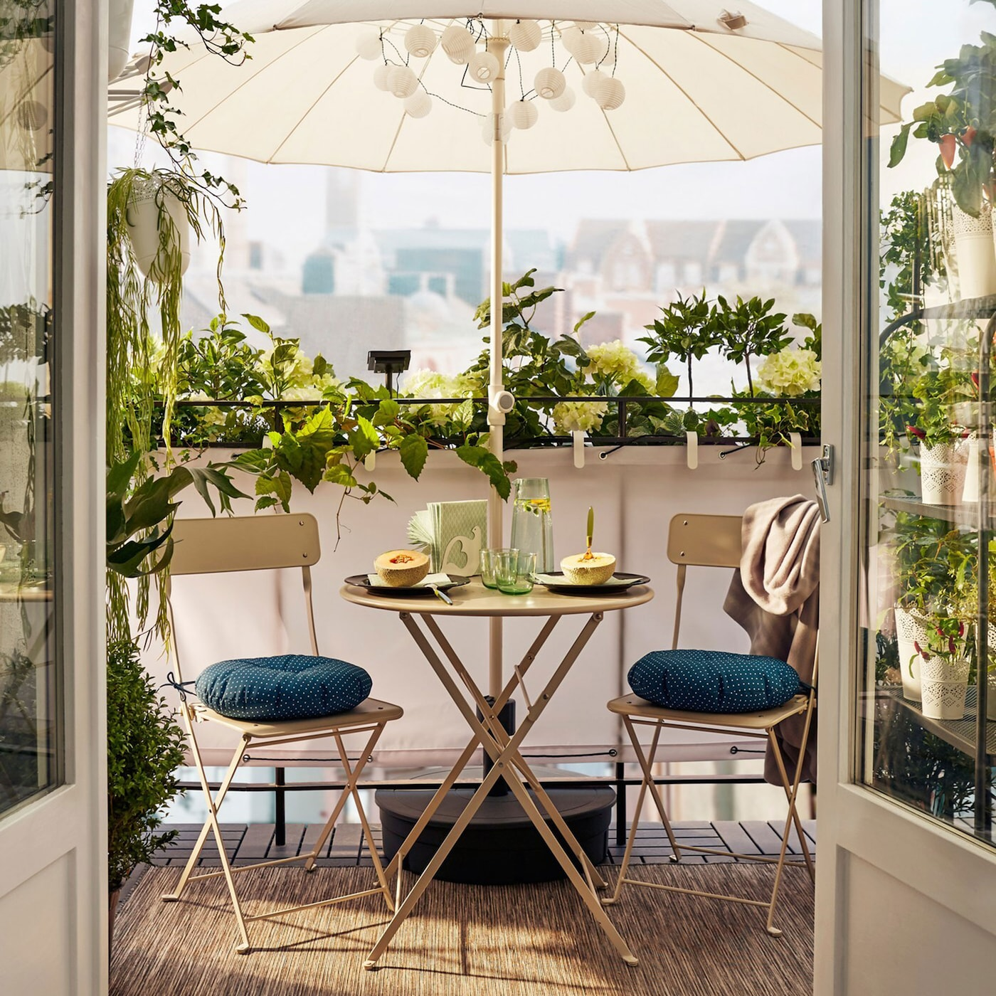 Simple Elegance For Small Balconies Ikea