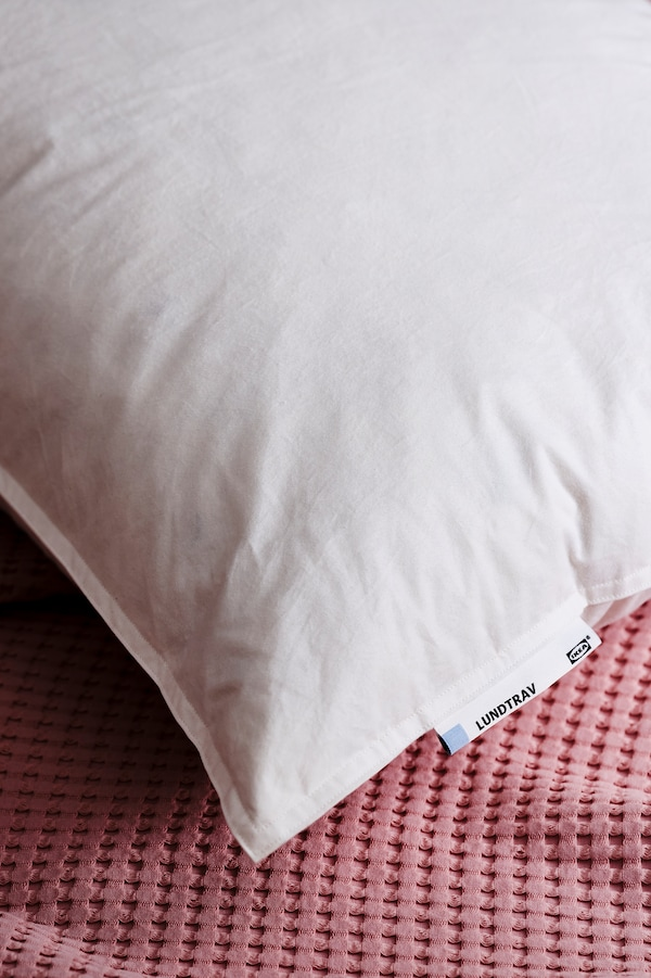 Down & feather pillows.