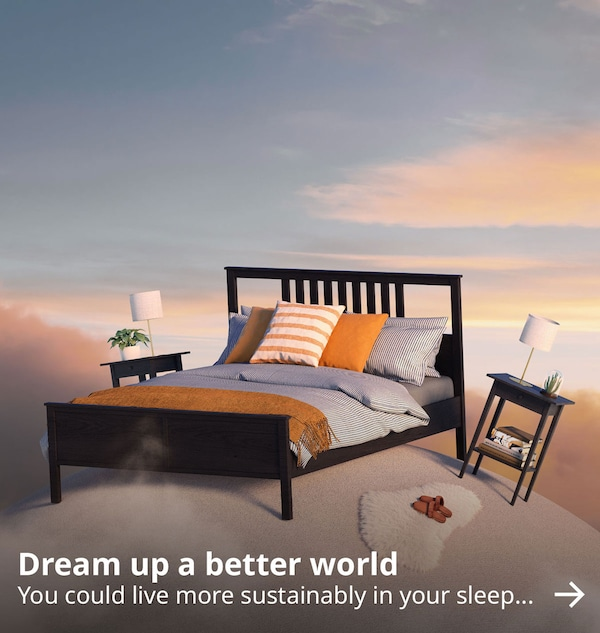 Dream up a better world. You could live more sustainably in your sleep.