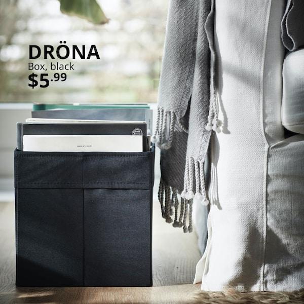 DRÖNA Box, black. $5.99.