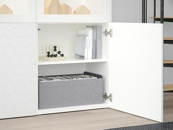 Drzwi VASSVIKEN, biały, 60x64 cm