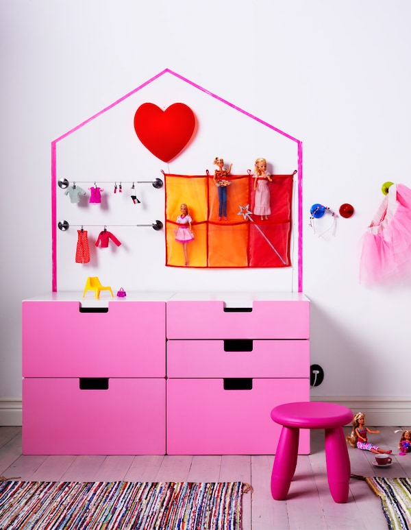 puppenhaus ideen zum selbermachen ikea. Black Bedroom Furniture Sets. Home Design Ideas
